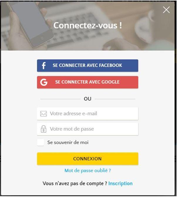 J 39 ai d j un compte comment me connecter la plateforme immojeune f - Comment rester connecter sur facebook ...